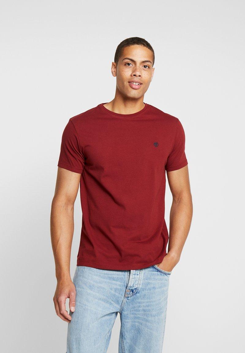 Timberland - DUNSTAN CREW TEE - T-Shirt basic - syrah