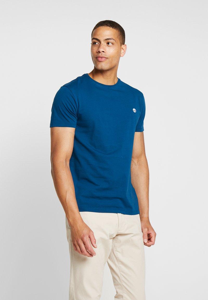 Timberland - DUNSTAN CREW TEE - Basic T-shirt - gibraltar sea