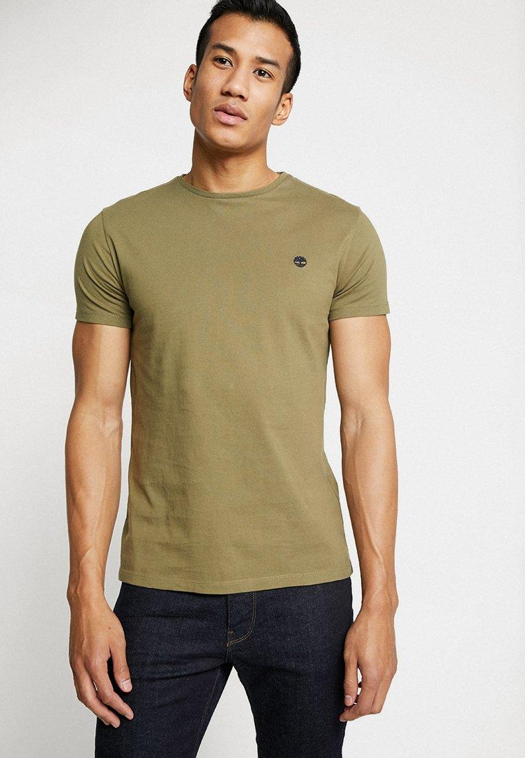 Timberland - DUNSTAN CREW TEE - Basic T-shirt - martini olive