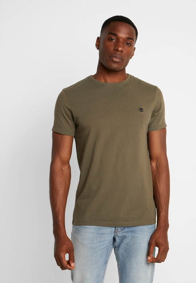 DUNSTAN  - Basic T-shirt - grape leaf