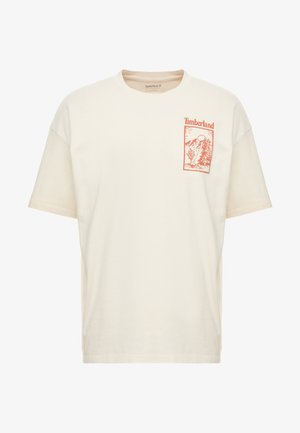 OUTDOOR INSPIRED TEE  - T-shirts med print - white smoke