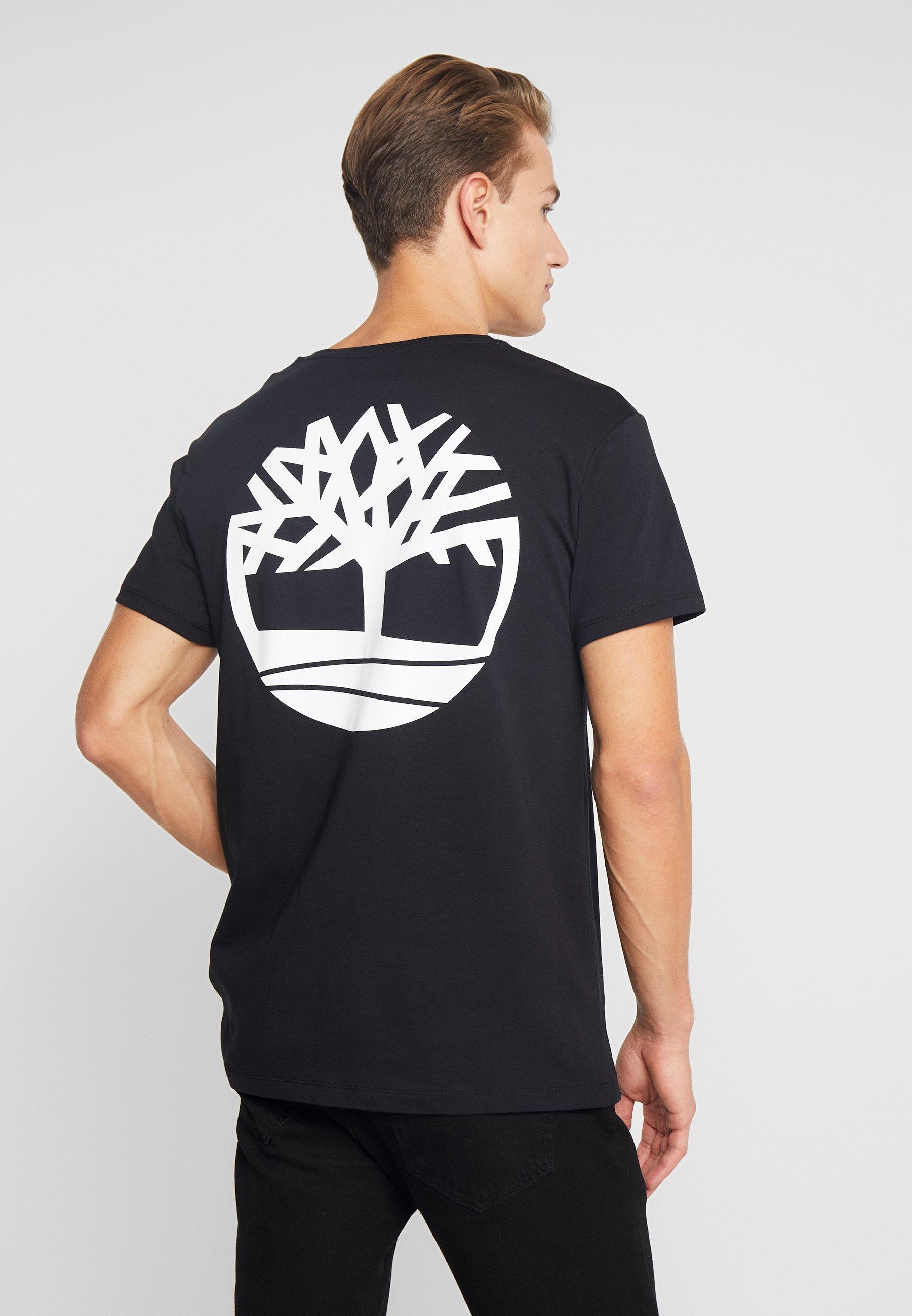 TeeT Stampa shirt Black Logo Timberland Con CBdoxe