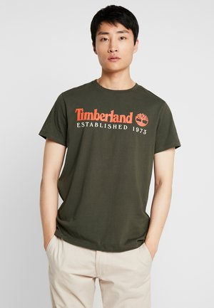 ESTABLISHED TEE - T-shirt med print - duffel bag