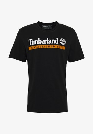 ESTABLISHED 1973 TEE - Print T-shirt - black