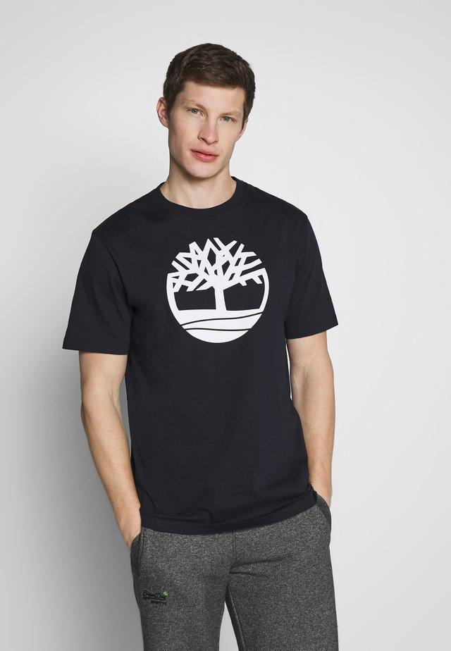 KENNEBEC - T-shirt z nadrukiem - dark sapphire