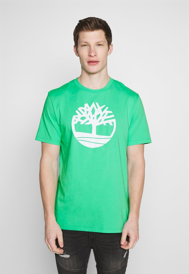 KENNEBEC - Print T-shirt - biscay green