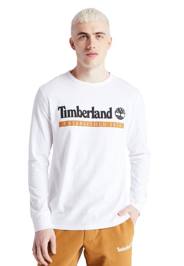 Maglietta a manica lunga - white-wheat boot