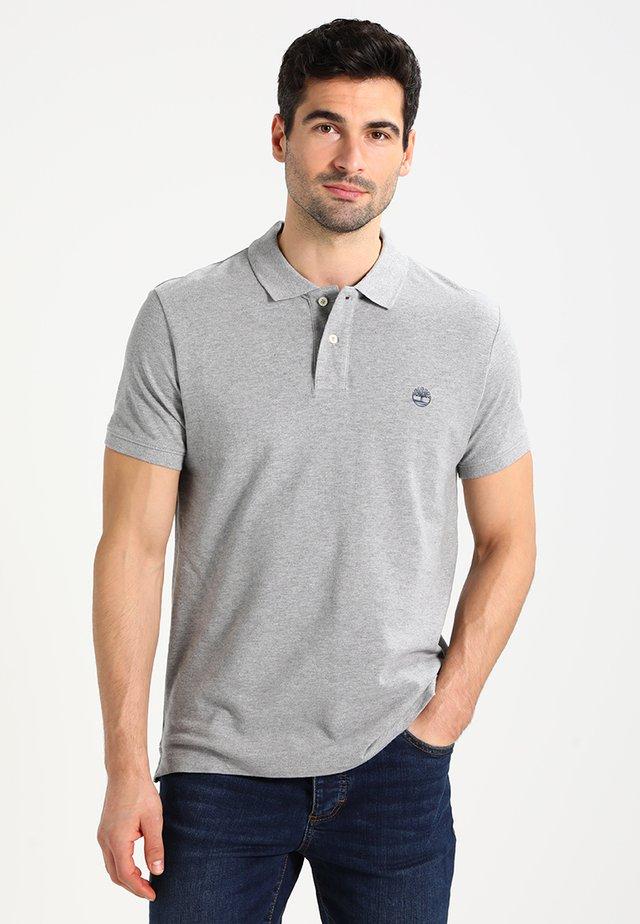 Poloshirt - med grey heat