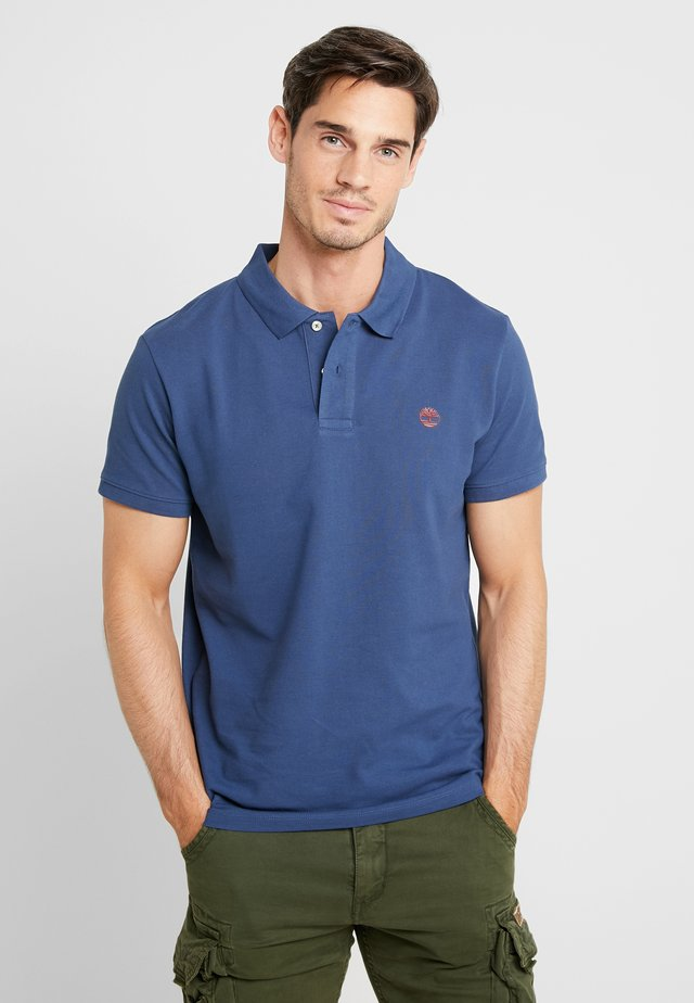 Poloshirt - dark denim