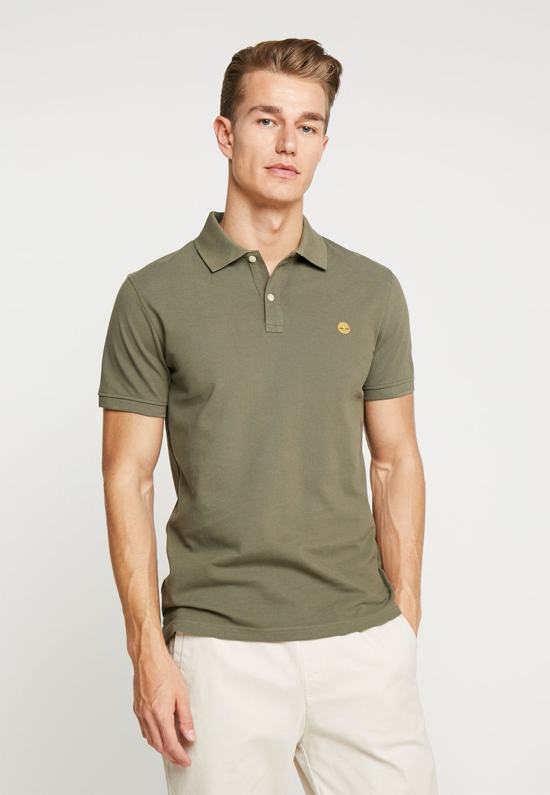 Timberland - MILLERS RIVER - Polo shirt - grape leaf