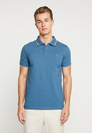 MILLERS RIVER TIPPED SLIM FIT - Polo - indian teal