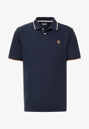 TIPPED - Polo shirt - dark sapphire