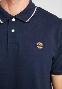 Timberland - TIPPED - Polo shirt - dark sapphire - 5
