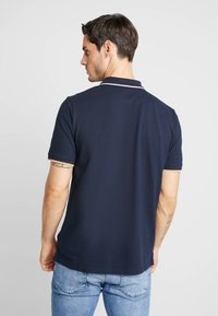 Timberland - TIPPED - Polo shirt - dark sapphire - 2