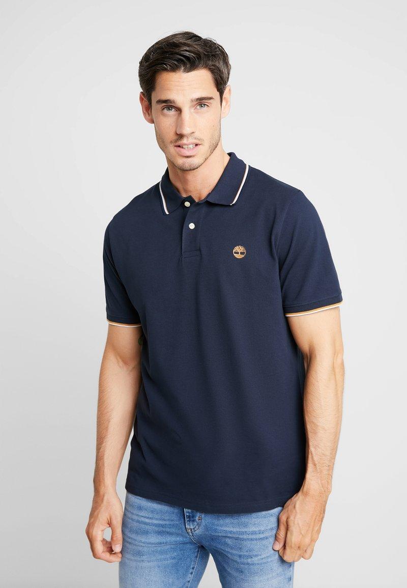 Timberland - TIPPED - Polo shirt - dark sapphire