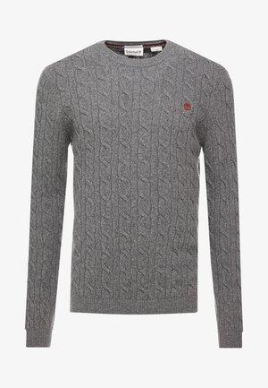 PHILLIPS BROOK CABLE CREW - Jumper - dark grey heather