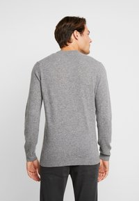 Timberland - COHAS BROOK MERINO  - Strikkegenser - medium grey heather - 2