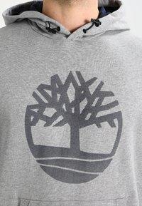 Timberland - TREE LOGO - Hoodie - medium grey heather - 3