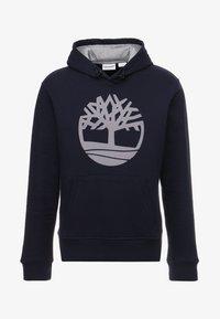 Timberland - TREE LOGO - Felpa con cappuccio - dark sapphir - 3