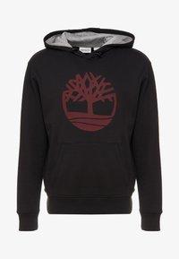 Timberland - TREE LOGO - Huppari - black - 4