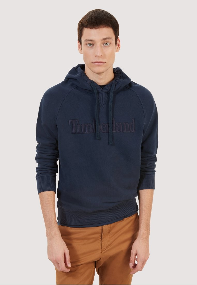 Timberland - EXETER OHD - Jersey con capucha - dark blue