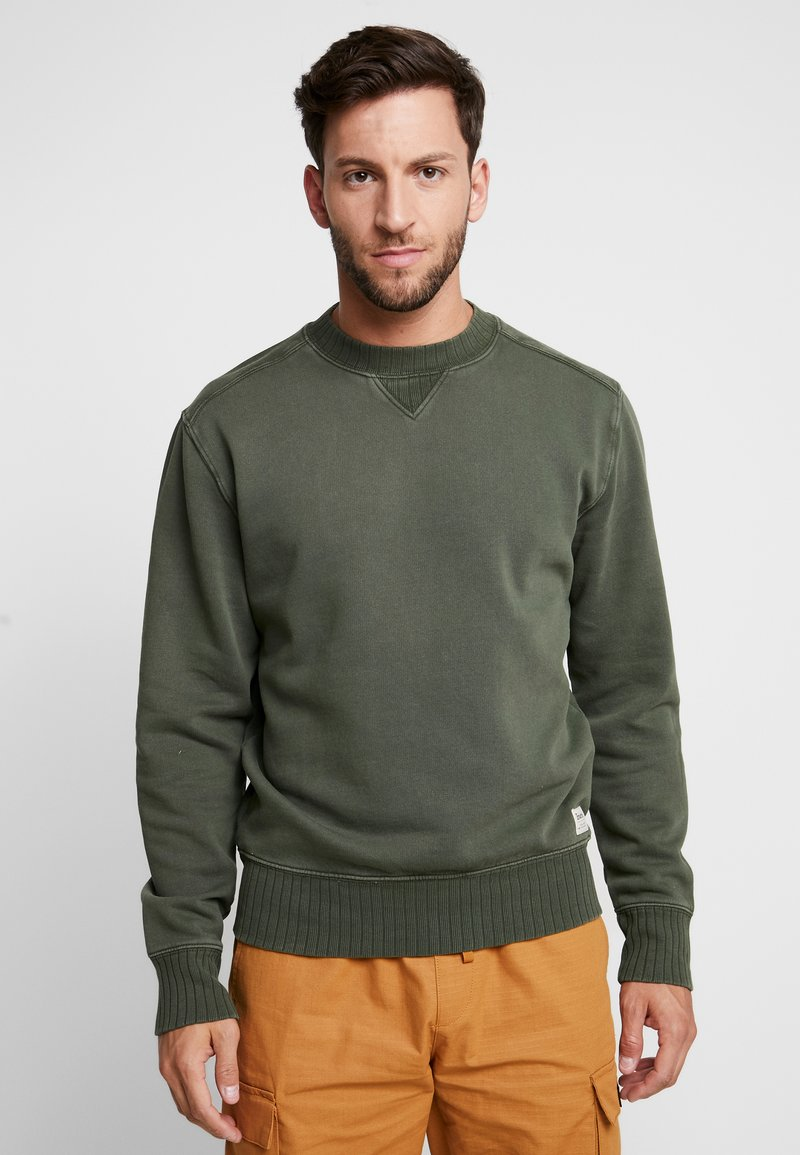 Timberland - MAD RIVER GARMENT DYED CREW - Sweater - duffel bag
