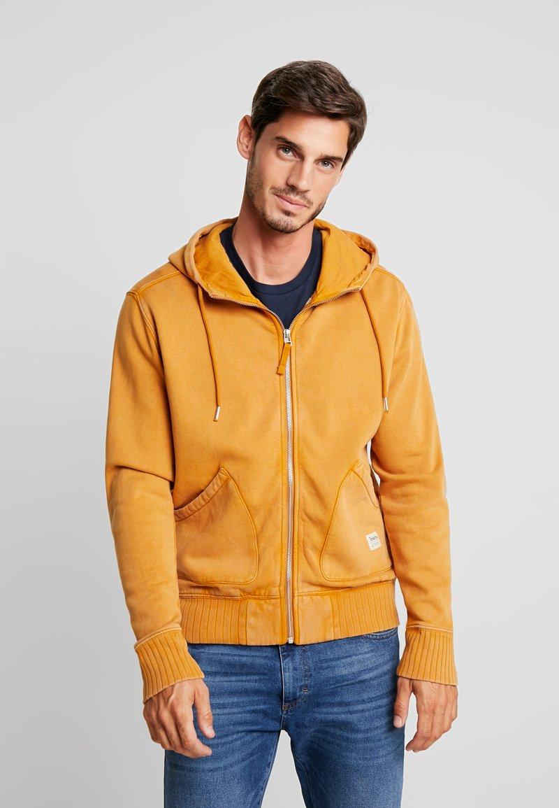 Timberland - MAD RIVER HOODIE - Zip-up hoodie - wheat boot