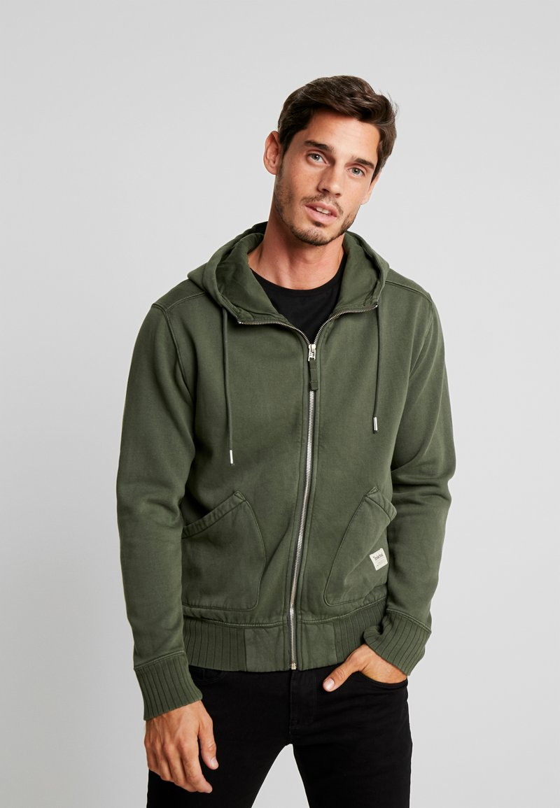 Timberland - MAD RIVER HOODIE - veste en sweat zippée - duffel bag