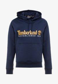 Timberland - ESSENTIAL ESTABLISHED HOODIE  - Hoodie - dark sapphire - 4