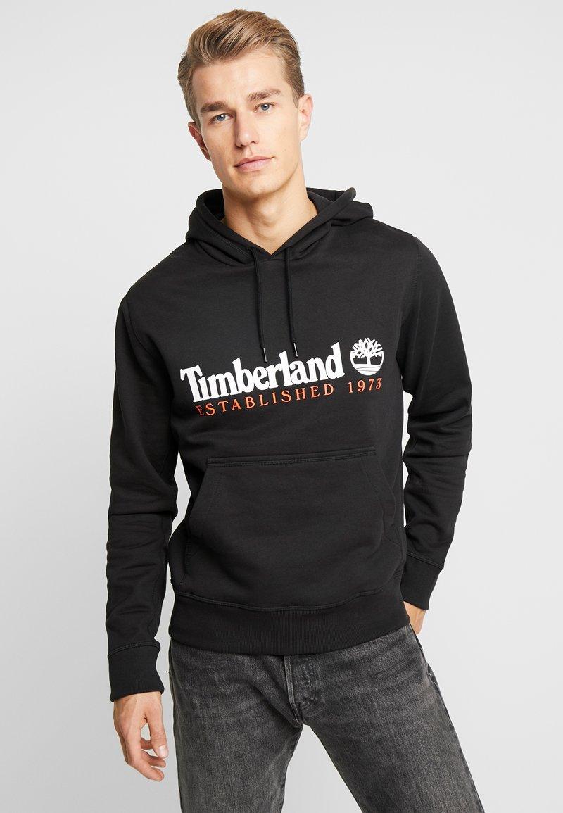 Timberland - ESSENTIAL ESTABLISHED HOODIE  - Hoodie - black