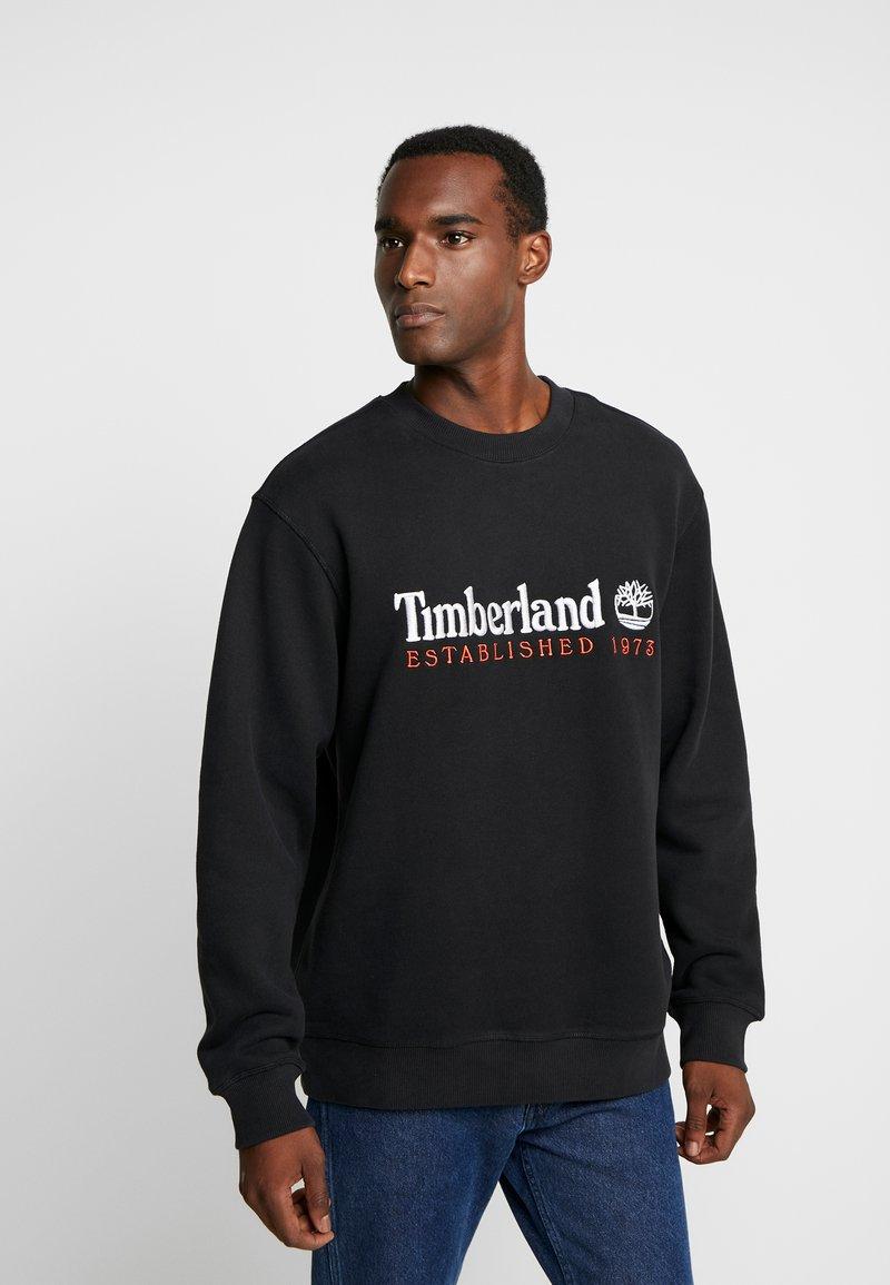Timberland - OUTDOOR ARCHIVE CREW - Sweatshirt - black