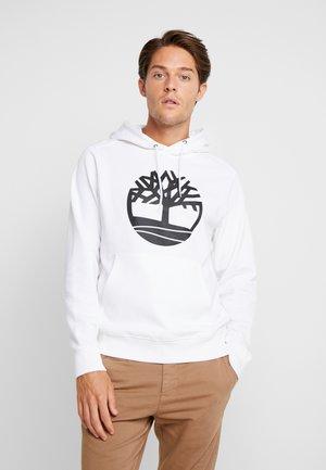 CORE TREE LOGO HOODIE - Hoodie - white