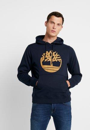 CORE TREE LOGO HOODIE - Felpa con cappuccio - dark sapphire