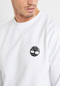 Timberland - CREW - Sweatshirt - white - 5