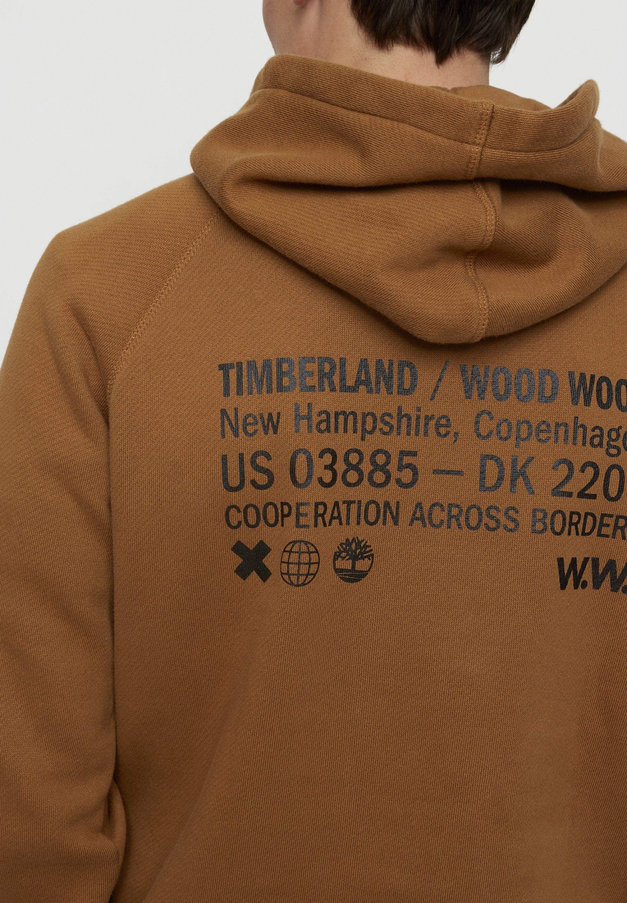 Timberland Felpa con cappuccio - rubber