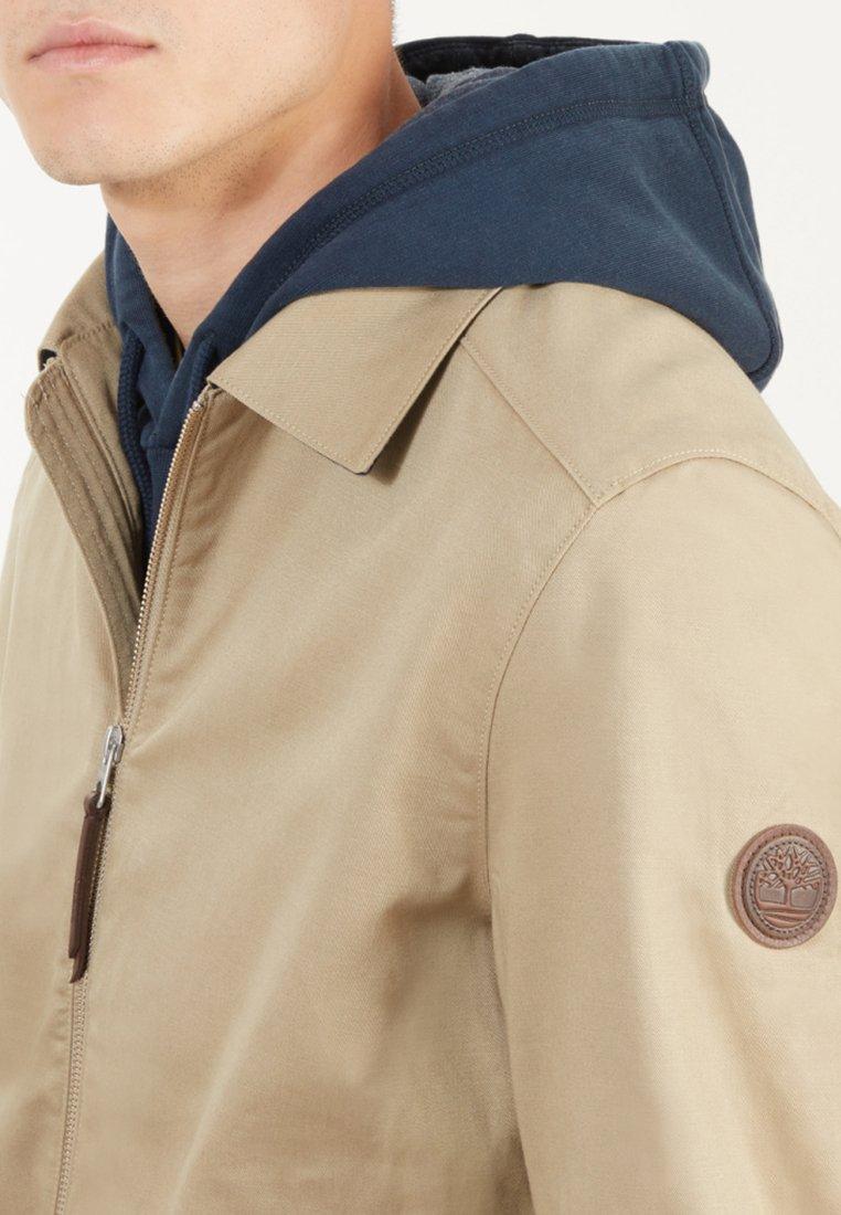 Restricción ventajoso Aburrido  Timberland STRATHAM BOMBER - Summer jacket - light brown - Zalando.de