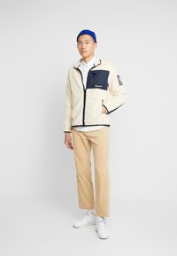 Timberland - OUTDOOR ARCHIVE SHERPA JACKET - Giacca in pile - dark sapphire/white smoke - 1