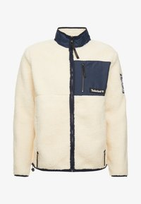 Timberland - OUTDOOR ARCHIVE SHERPA JACKET - Giacca in pile - dark sapphire/white smoke - 4