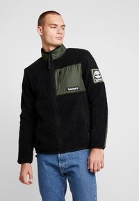 Timberland - OUTDOOR ARCHIVE SHERPA JACKET - Veste polaire - duffel bag/black - 0