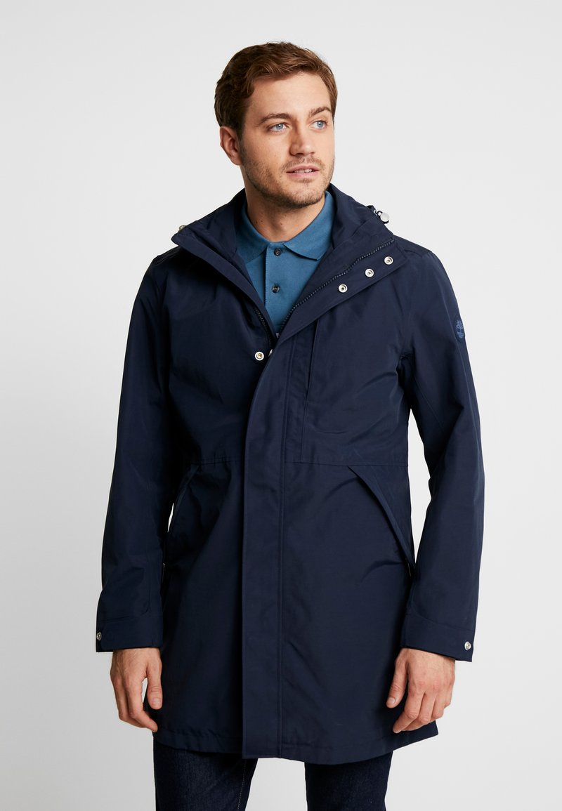 Timberland - RAGGED MOUNTAIN RAINCOAT  - Waterproof jacket - dark sapphire