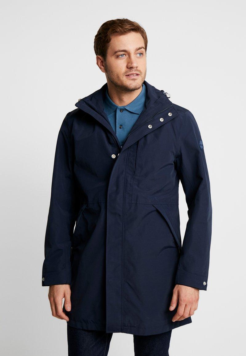 Timberland - RAGGED MOUNTAIN RAINCOAT  - Waterproof jacket - dark sapphire