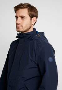 Timberland - RAGGED MOUNTAIN RAINCOAT  - Waterproof jacket - dark sapphire - 5