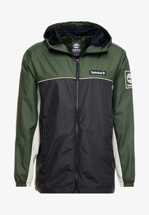 FULL ZIP JACKET - Summer jacket - duffel bag/black