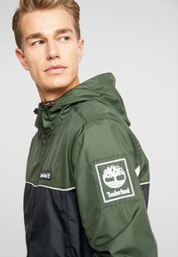 Timberland - FULL ZIP JACKET - Summer jacket - duffel bag/black - 4