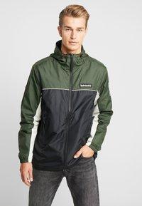 Timberland - FULL ZIP JACKET - Summer jacket - duffel bag/black - 0