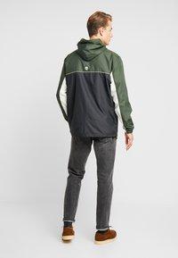 Timberland - FULL ZIP JACKET - Summer jacket - duffel bag/black - 2