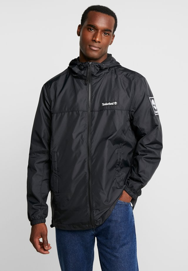 FULL ZIP JACKET - Leichte Jacke - black