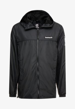 FULL ZIP JACKET - Summer jacket - black