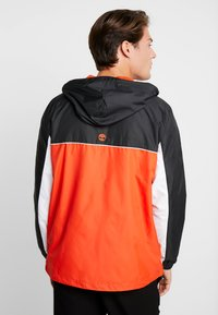 Timberland - FULL ZIP JACKET - Summer jacket - black/spicy orange - 2