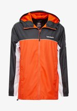 FULL ZIP JACKET - Kurtka wiosenna - black/spicy orange